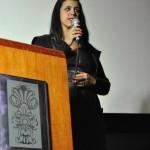 Coordenadora geral do Intercom Sudeste 2012, Nair Prata. Foto: Íris Zanetti