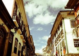 Rua Direita, Ouro Preto. Foto: Joyce Fonseca