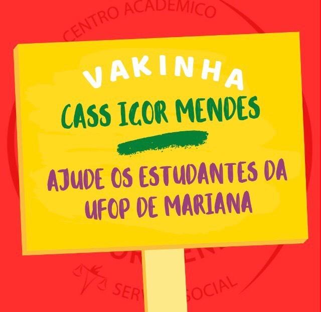 Vakinha solidária CASS