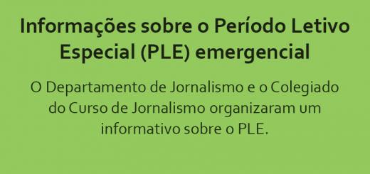 Informações PLE UFOP