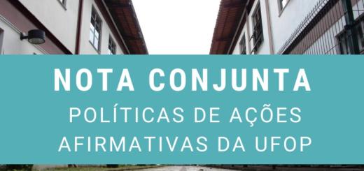 Nota Conjunta DEJOR, COJOR, PPGCOM